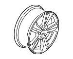 Wheel, Alloy - Ford (DS7Z-1007-C)