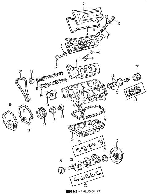 engine/oil pan for 1998 oldsmobile aurora