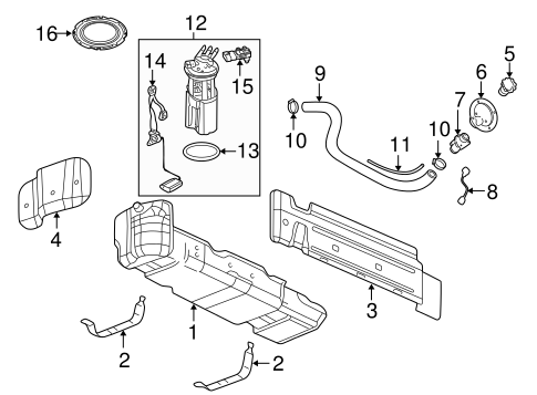 chevy avalanche emission system diagram fuel system components for 2003 chevrolet avalanche 1500 chevy avalanche fuel system diagram