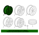 Wheel, Alloy - GM (23165677)