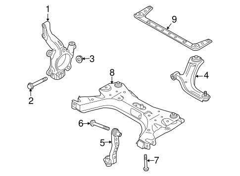 suspension components for 2008 nissan versa. Black Bedroom Furniture Sets. Home Design Ideas