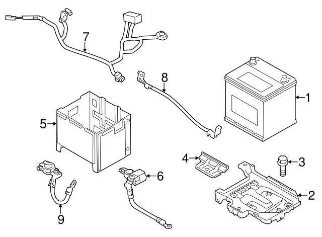 7180 3x001 Sensordetector Assembly Battery