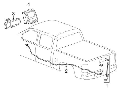 Electrical Components For 2014 Chevrolet Silverado 2500 Hd