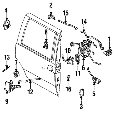 6elnj Ford E350 Econoline Club Wagon Does Anyone Diagram likewise 2014 Ford F150 Wiring Diagram together with Sliding Door Scat as well 1qjse Hidden Key Hole Passat 2008 likewise Threshold. on how much is a door with lock