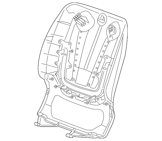 GM Seat Back Panel (22978741) For Sale