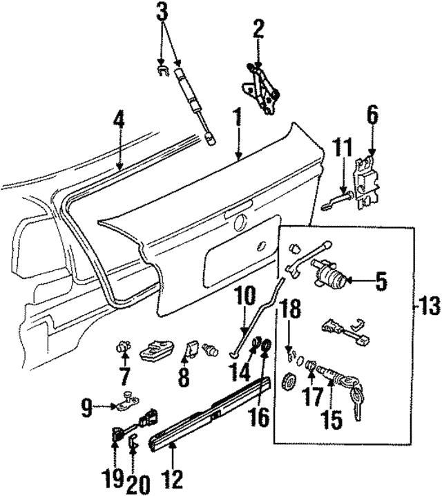 1996 1999 Volkswagen Cabrio Connector Rod 1h6 827 515 A