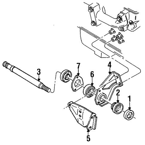 Intermediate Shaft For 1990 Chevrolet Cavalier Z24