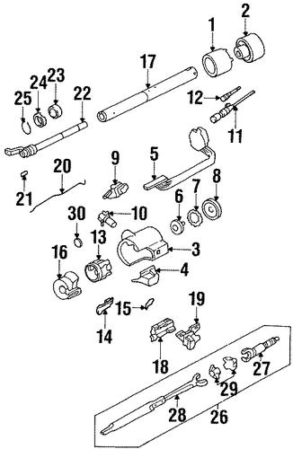 ignition lock for 1994 chevrolet k1500 pickup. Black Bedroom Furniture Sets. Home Design Ideas