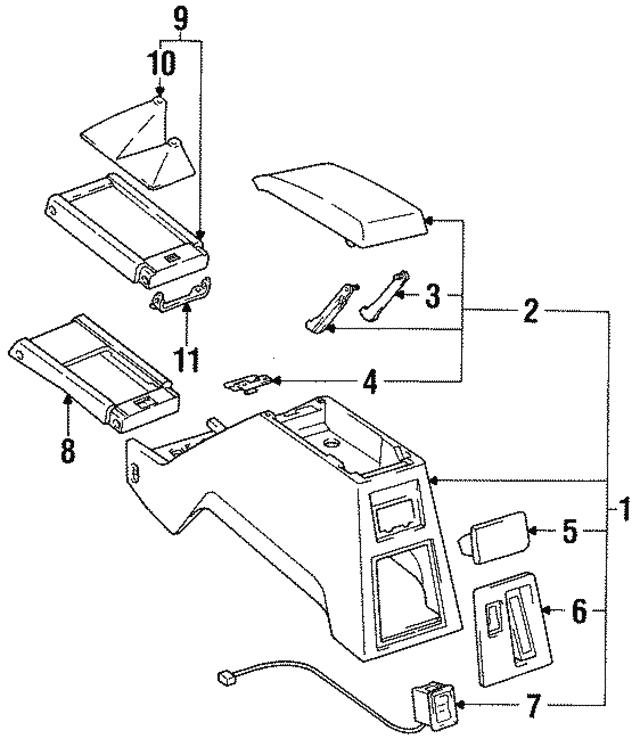 1990 1995 Toyota 4runner Shift Plate Bracket 58991 89103