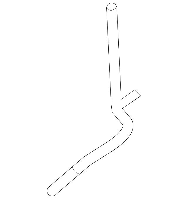 Ford 9L3Z-6754-C OIL LEVEL IND TUBE