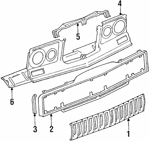 Front Panel for 1986 Jeep J10 | Jeeps Are Us