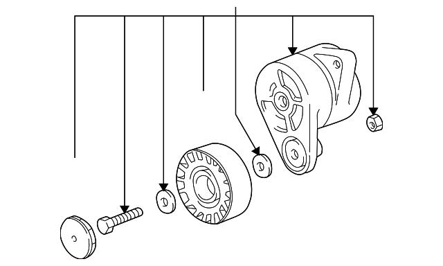 30 1998 Bmw 528i Serpentine Belt Diagram