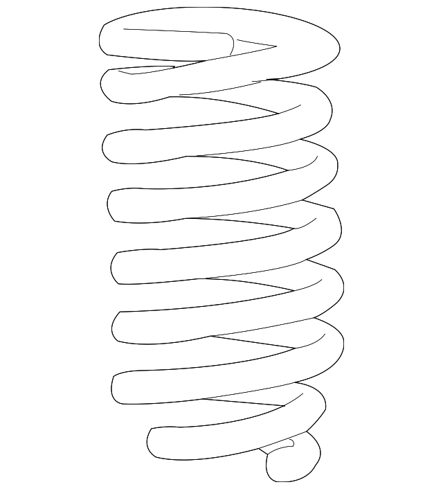TOYOTA 48131-AD170 Coil Spring
