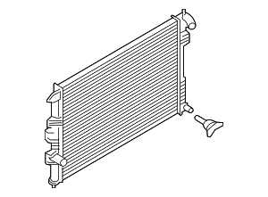 Radiator - Ford (FB5Z-8005-C)