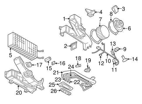 Blower motor relay mopar 4727370aa factory oem for 2009 dodge ram 1500 blower motor resistor