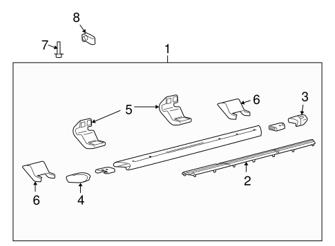 Body/Running Board for 2014 Ford F-150 #1