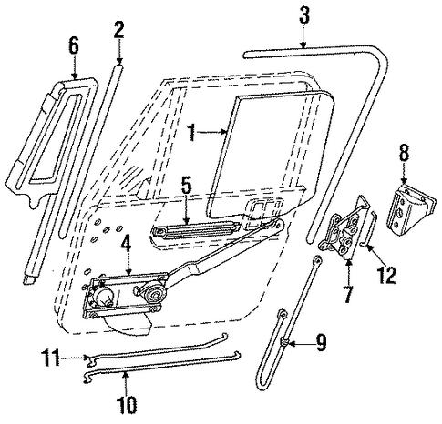 Hardware For 1991 Jeep Wrangler