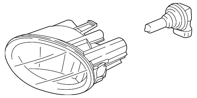 Genuine Honda Fog Lamp Assembly 33901 Sle 305