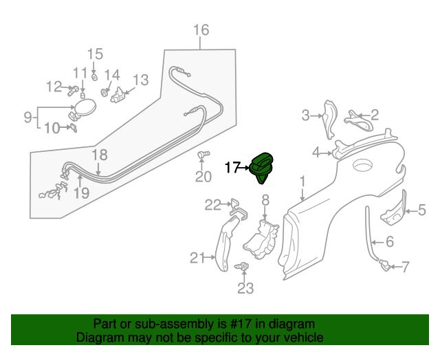 Cable Clip - Mazda (M003-66-941) | Quirk Parts