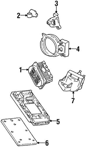 oem 1999 oldsmobile intrigue ignition system parts