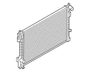 Radiator - Ford (EA8Z-8005-A)