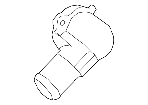 Thermostat Outlet - Ford (AA5Z-8592-A)