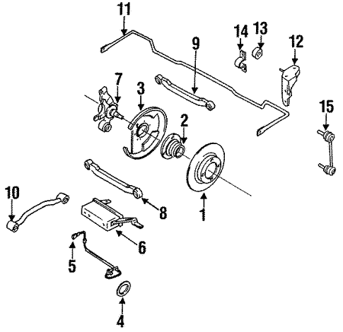 Rear Suspension for 1994 Infiniti G20 | Infiniti Parts Online on infiniti g20 transmission problems, infiniti g20 engine diagram, infiniti g20 repair manual, infiniti g20 parts catalog, infiniti i30 wiring diagram, infiniti g37 wiring diagram, infiniti g20 chassis diagram, infiniti g35 wiring diagram,