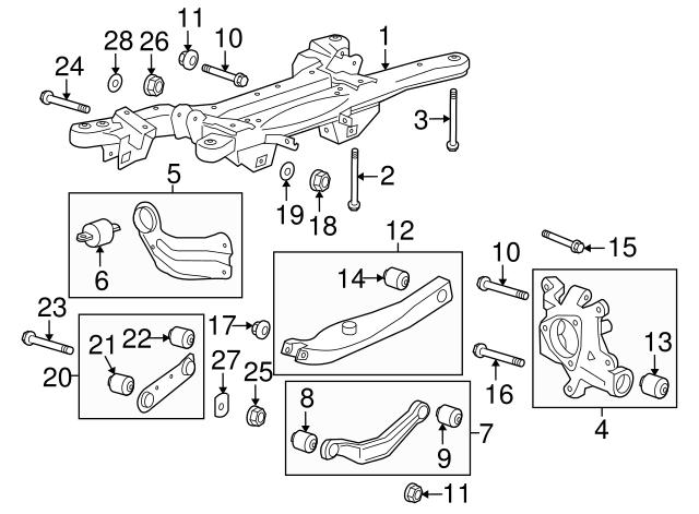 2013 2019 Gm Upper Control Arm 20900532