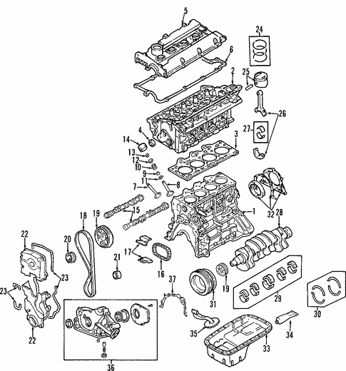 Elantra Engineoil Pan Parts