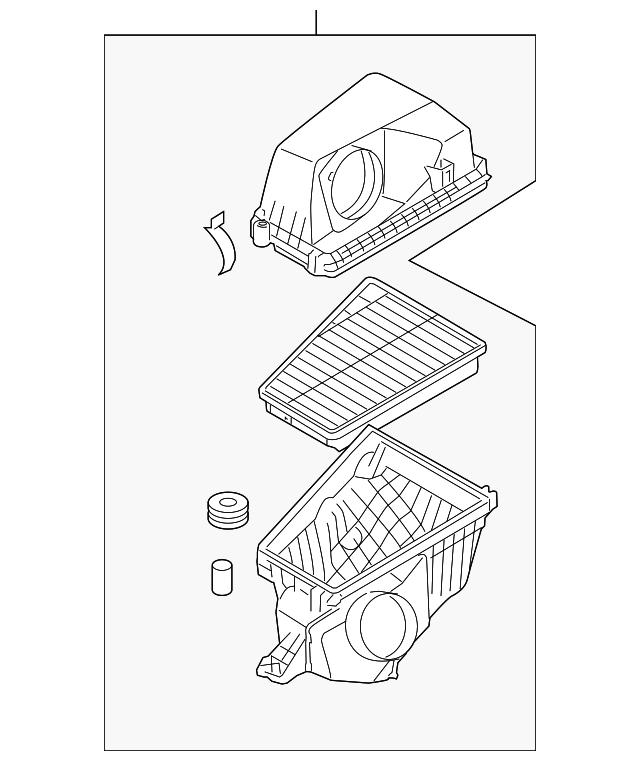 Genuine Hyundai 28191-3M000 Resonator Assembly