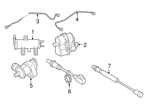 Emission Components for 2011 Volvo C70 #0