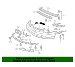 Shock Absorber Assembly, Front Bumper