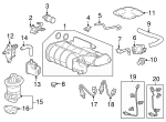Sensor, Front Oxygen - Acura (36532-5G0-A01)