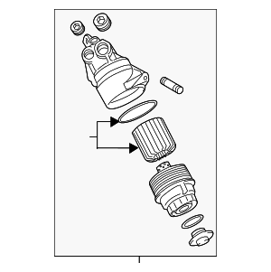 Filter Assembly - Lexus (15670-31020)