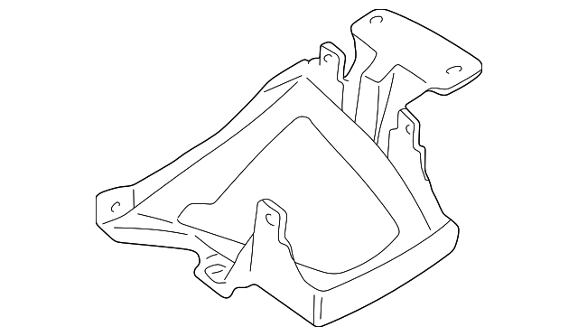 2005 2008 Jaguar S Type Fuse Box Mount Bracket Xr855565
