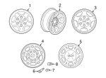 Wheel, Alloy - GM (9592564)