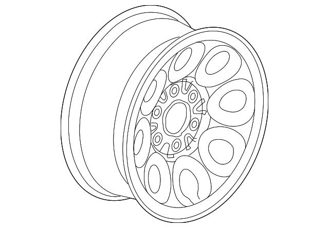 2005 2017 gm wheel steel 9595246 courtesychevroletparts Custom 2015 Tahoe wheel steel gm 9595246
