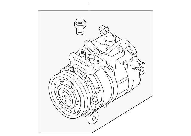 2006 2013 Bmw Compressor 64 50 9 180 550