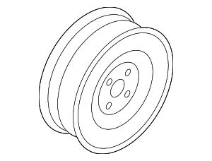 Wheel, Steel - Nissan (40300-CJ107)