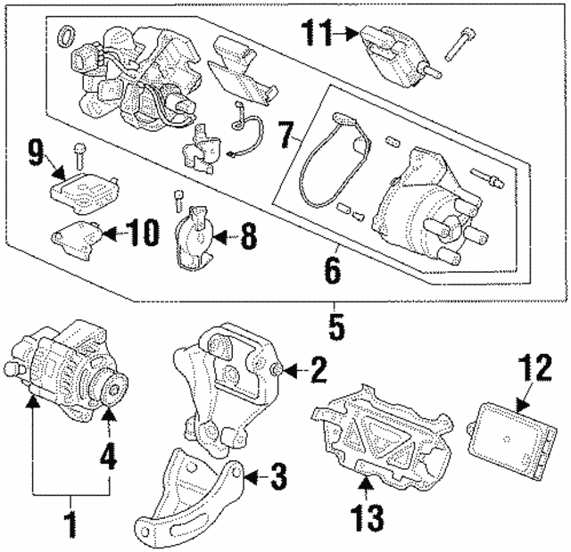 Bracket, Alternator - Honda (31112-P0A-A00)
