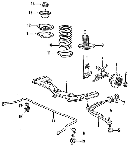 front suspension for 2001 bmw 330ci