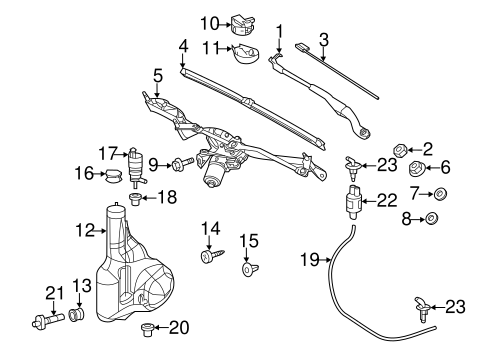 wiper  u0026 washer components for 2011 mercedes