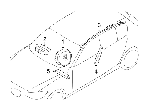 Air Bag Components For 2018 Bmw M240i