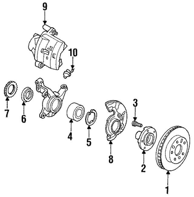 Bearing Seal - Ford (F32Z-1S177-A)