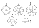 Wheel, Alloy - Nissan (40300-6CA4A)