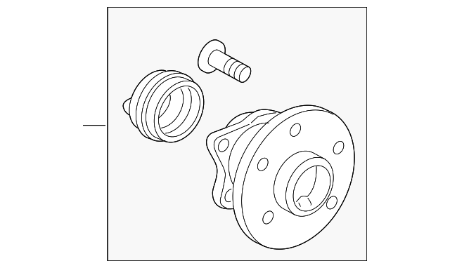 Front Axle Hub as well Clutch Hose 4 besides Toyota Hub And Bearing 4245002160 together with 35472932 as well Fuse Panel 2006 Buick Lucerne. on toyota prius hub bearing