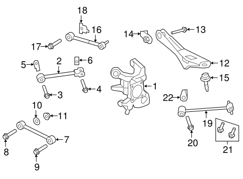 Rear Suspension/Rear Suspension for 2011 Ford Expedition #2