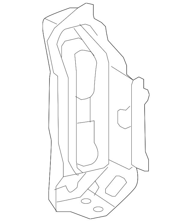 Genuine Toyota 53222-52020 Radiator Support Brace