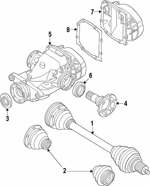 Differential For 2014 Bmw X1