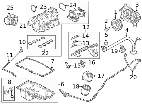Engine Parts for 2019 Ford F-350 Super Duty | Empire Ford of Bedford | Ford F350 Super Duty Engine Diagram |  | Empire Ford of Bedford